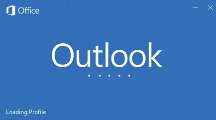 Outlook loading image
