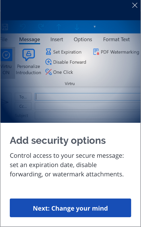 add security options